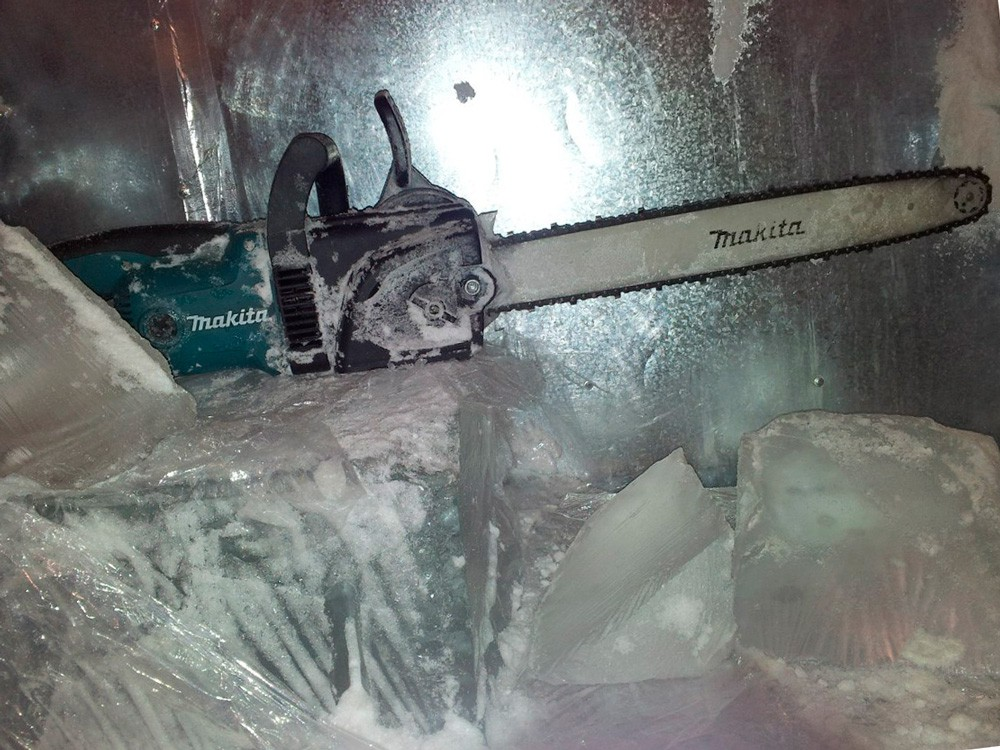Уроки резьбы по льду