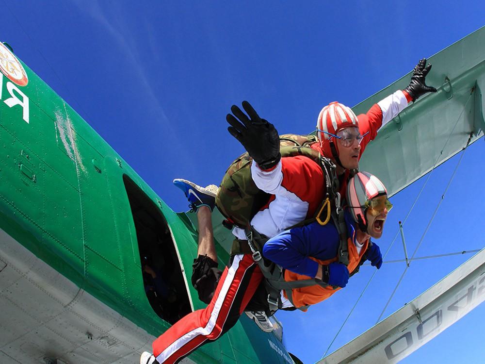 Подарки екатеринбург прыжок с парашютом