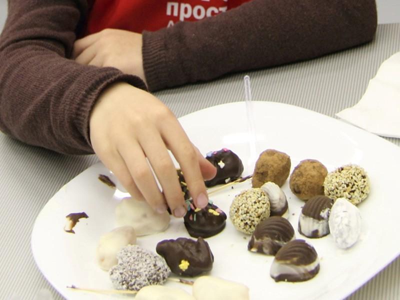 Шоколад своими руками с текстом 792