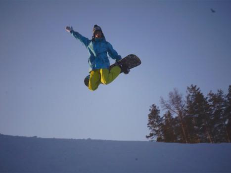 Урок на сноуборде