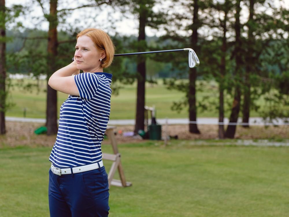 Игра в гольф для веселой компании