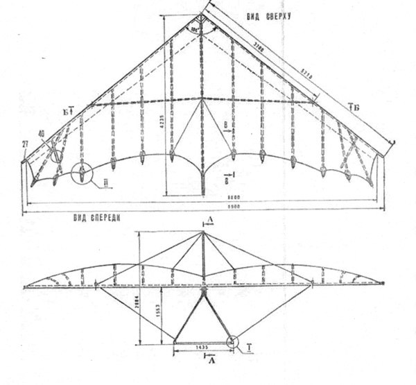 Конструкция летного аппарата