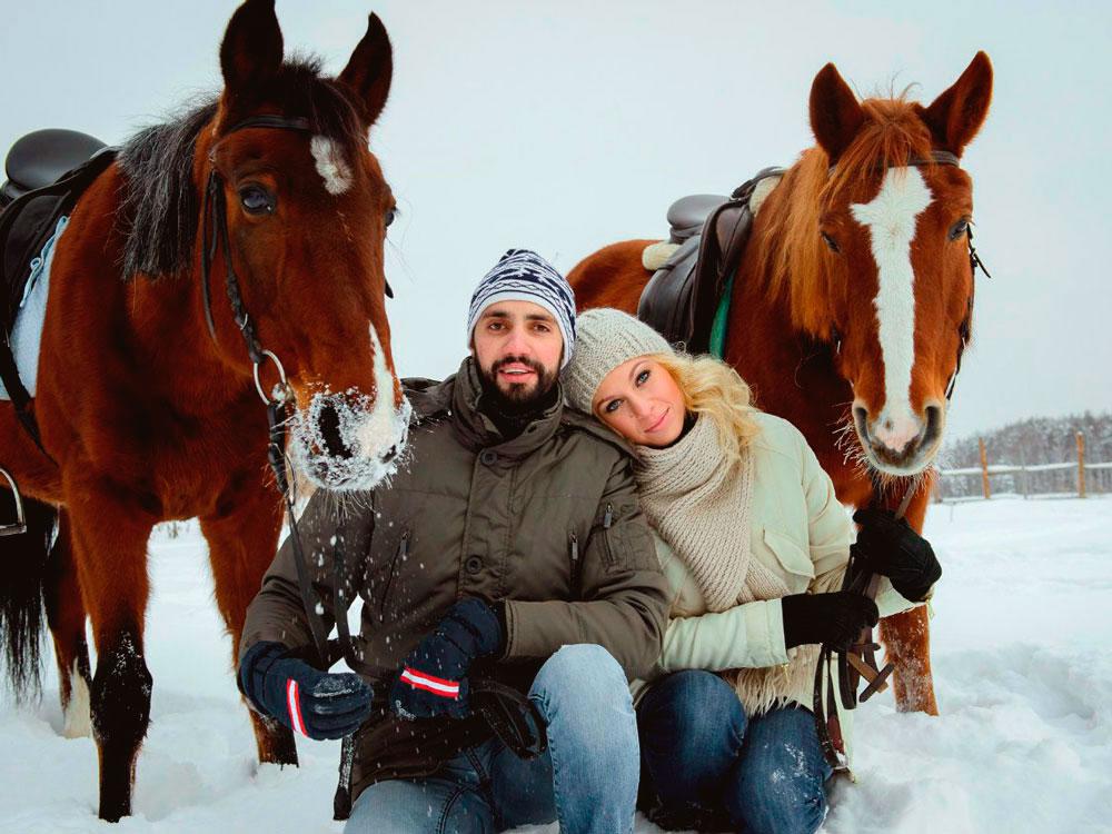 Прогулка н лошадях