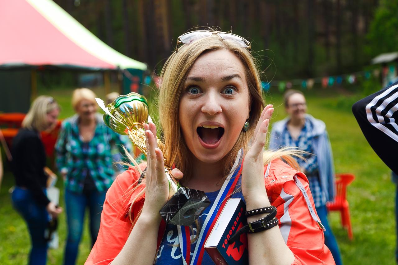 Эмоции выжившей в лесу))