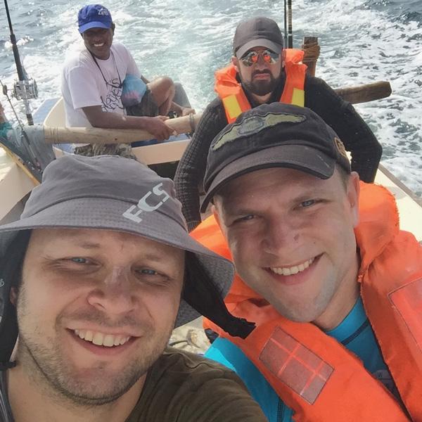 Рыбалка на Шри Ланке