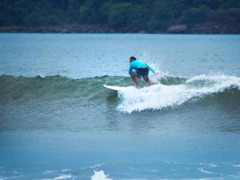 Зеленые волны на Шри Ланке