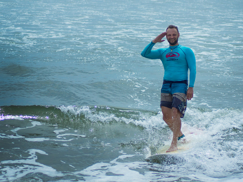Серфинг на пене
