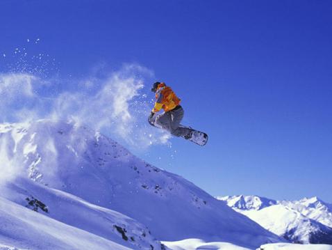 Прыжки на сноуборде