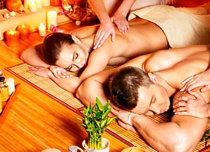 массаж для двоих