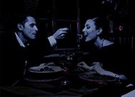 ужин в темноте