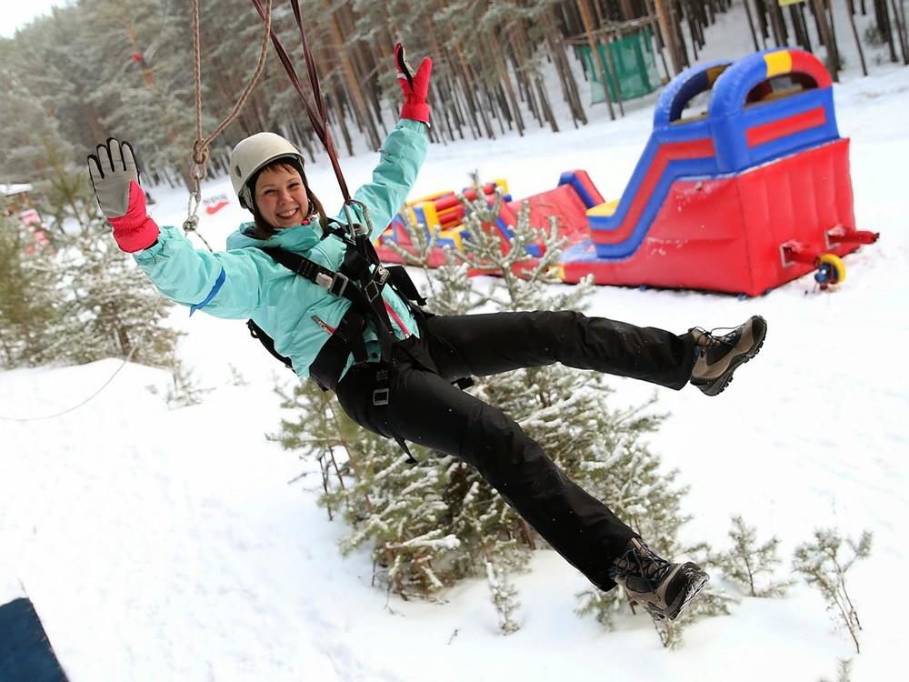 Прыжок с тарзанки в Новый Год