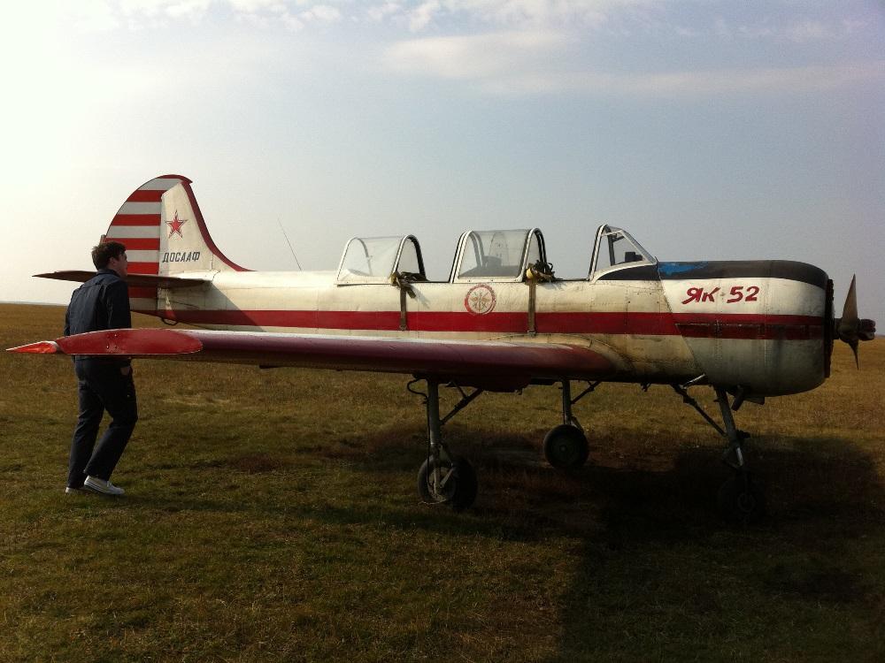 Полет на Як52