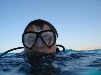Погрузиться с аквалангом