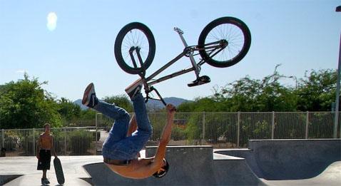 Трюки с велосипедом