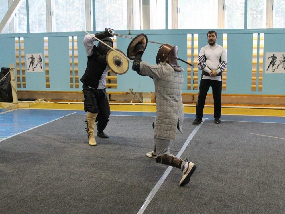 Урок фехтования