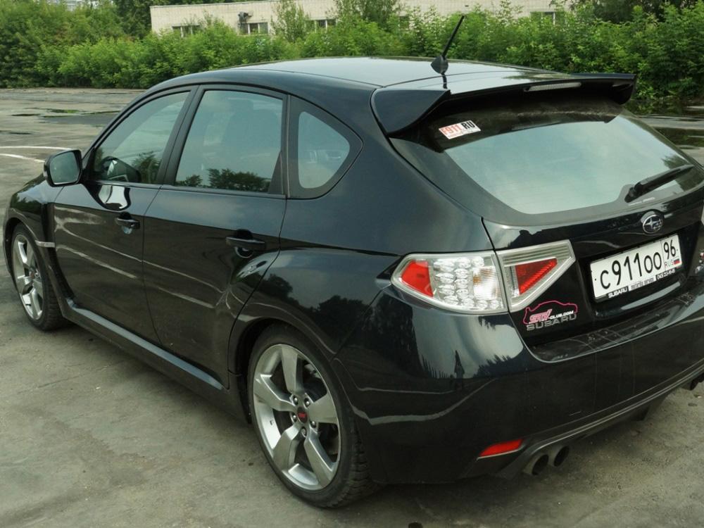 За рулем Subaru STI