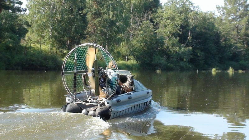 Аэролодка для рыбалки