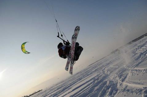 Научиться летать на сноукайтинге