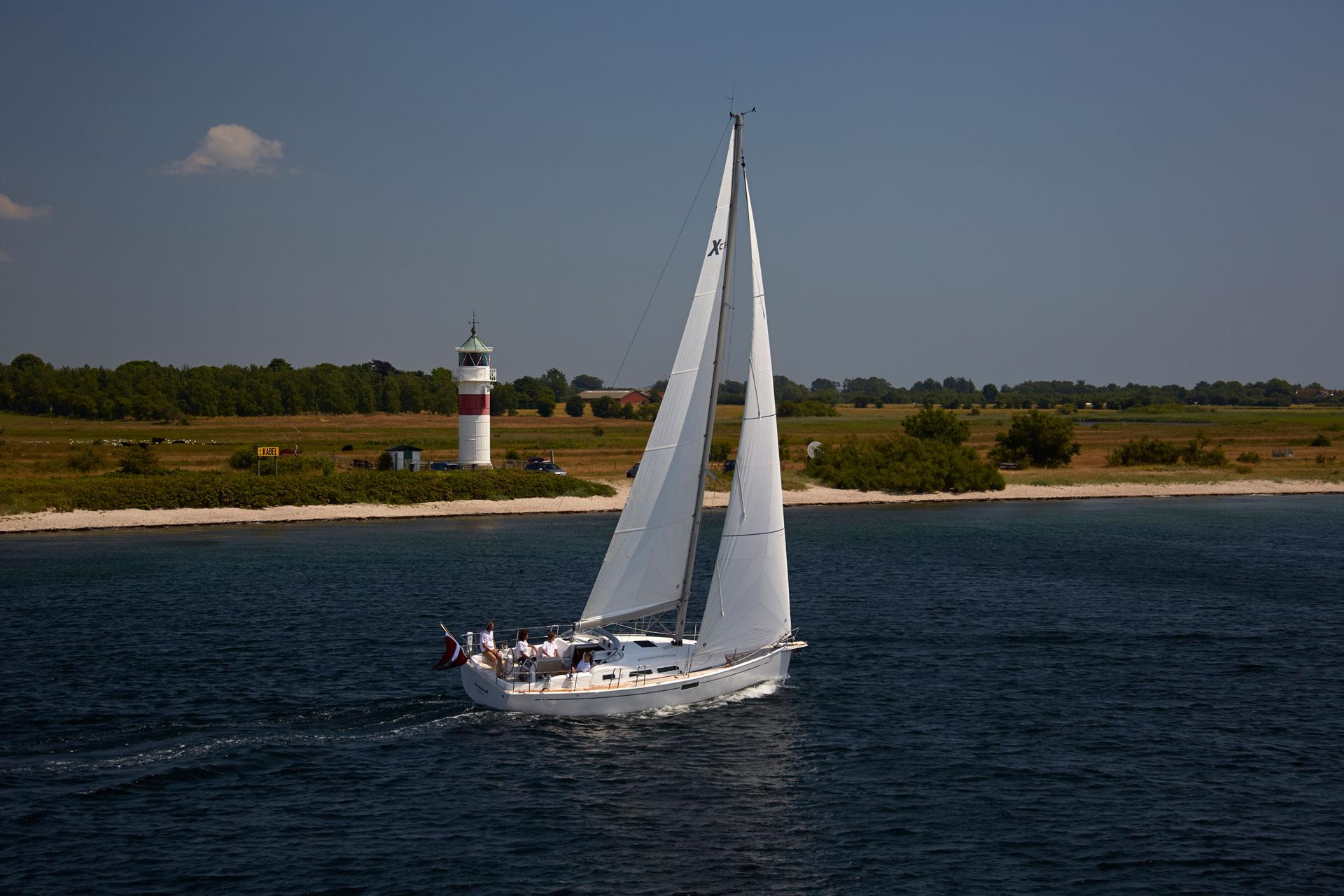 Прогулочная яхта