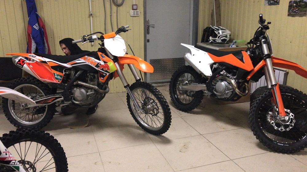 Сборка нового мотоцикла