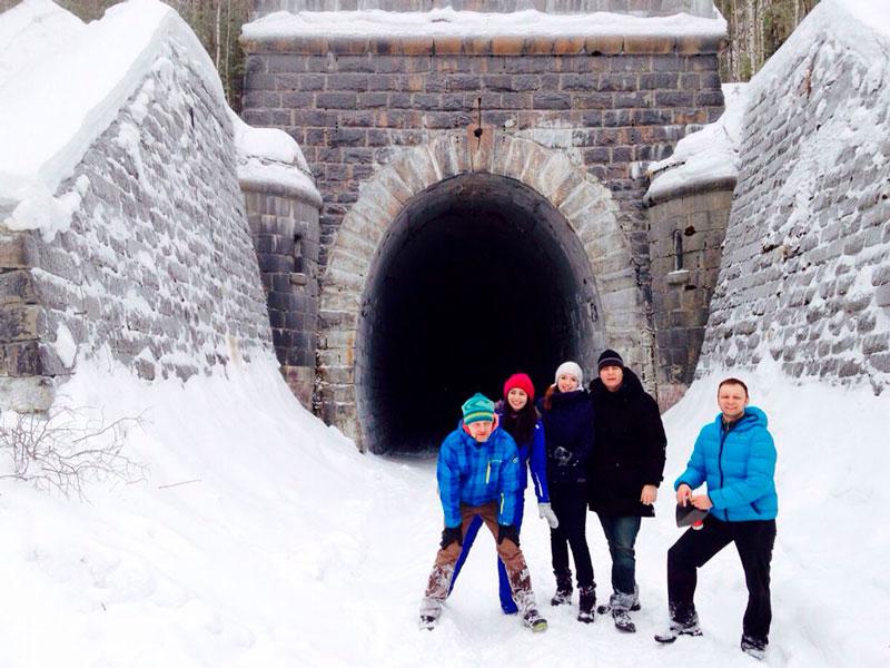 Маршрут выходного дня Дидинский тоннель